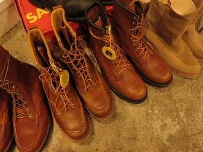 """VINTAGE BOOTS COLLECTION\""ってこんなこと。_c0140560_1150653.jpg"