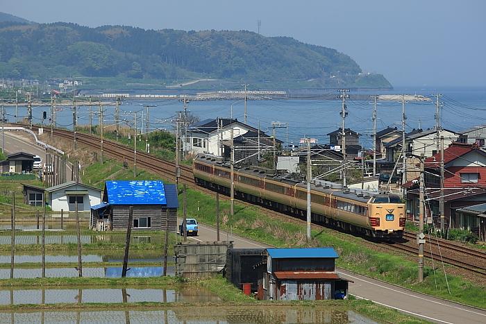 谷浜駅界隈「北越2号」 : 鉄道原...
