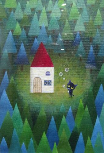 たまごの工房企画「森とキノコとコビトたち」 展  その7_e0134502_17465657.jpg
