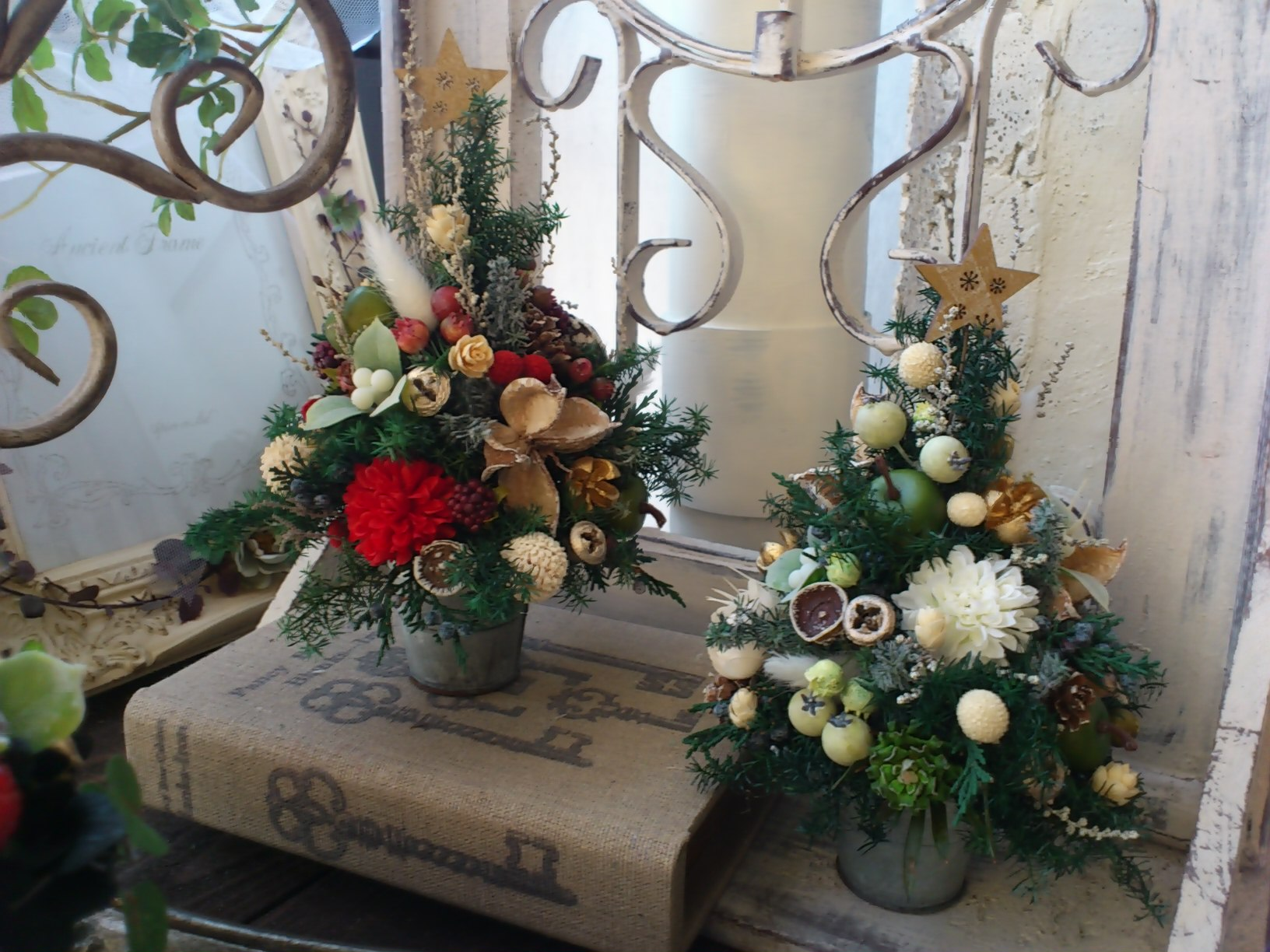 クリスマスツリー★レッスン_e0128024_1721351.jpg