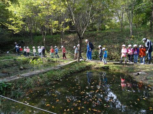 淡輪小学校1年生遠足サポート  in  うみべの森_c0108460_20542999.jpg