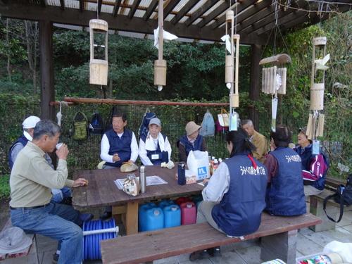 孝子の竹林整備が終了しました・・・定例活動日_c0108460_23161430.jpg