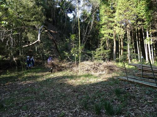 孝子の竹林整備が終了しました・・・定例活動日_c0108460_23242270.jpg