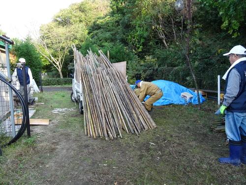 孝子の竹林整備が終了しました・・・定例活動日_c0108460_2328054.jpg