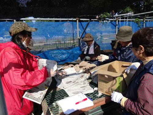 孝子の竹林整備が終了しました・・・定例活動日_c0108460_23302424.jpg