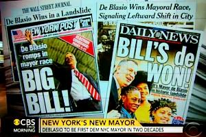 ニューヨーク市の次の市長さんは、ビル・デブラシオさん(Bill de Blasio)_b0007805_23181546.jpg