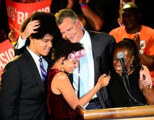ニューヨーク市の次の市長さんは、ビル・デブラシオさん(Bill de Blasio)_b0007805_23223839.jpg