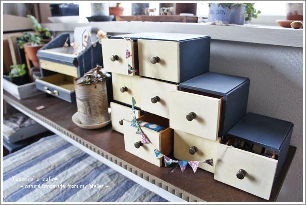 組み合わせ自由な多目的ボックスをお気に入りカラーでおしゃれにリメイク!