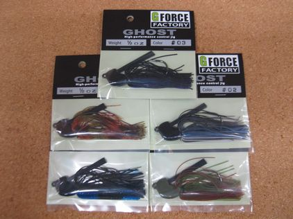 G FORCE FACTORY GHOST 3/8 & 1/2oz 再入荷_a0153216_13551164.jpg