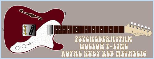 「Royal Ruby Red MetallicのHollow T-Line」を発売!_e0053731_18564923.jpg