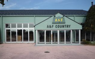 A&F COUNTRY 安曇野店様 工事が完了しました_e0180332_18402044.jpg