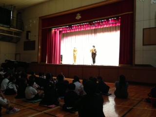 今年もお招きありがとうございます〜芝小学校〜_e0088256_0355024.jpg