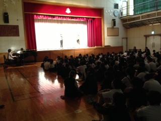 今年もお招きありがとうございます〜芝小学校〜_e0088256_036163.jpg