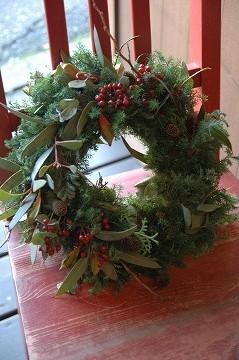 2013クリスマスリース_e0130779_13585679.jpg