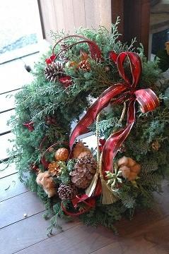 2013クリスマスリース_e0130779_13592749.jpg