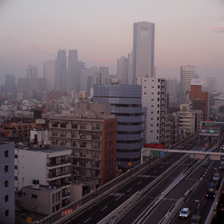 幡ヶ谷夕景之図_b0058021_2383870.jpg
