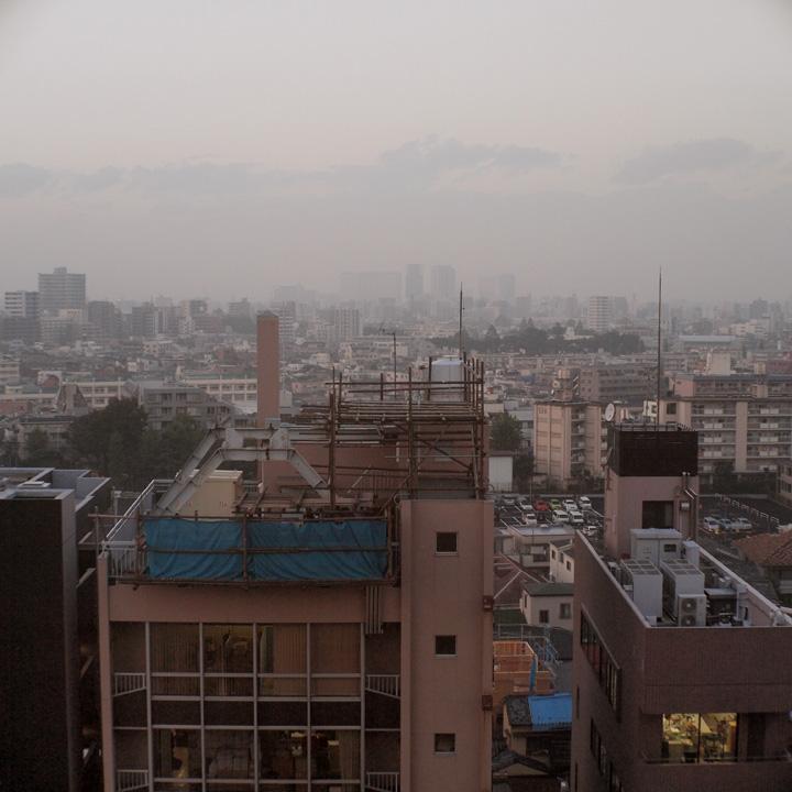幡ヶ谷夕景之図_b0058021_2384161.jpg