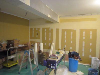 江の島K様邸クロス工事が始まりました_d0208936_1749921.jpg
