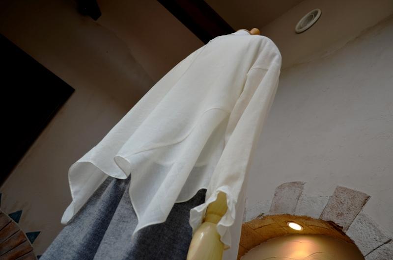 """""""着流し風カーデを羽織った大人安心丈S-pantsスタイル""""_d0153941_18312873.jpg"""