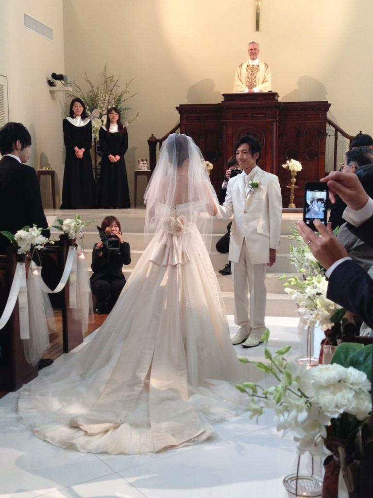 Wedding Party♪_b0161661_12291877.jpg