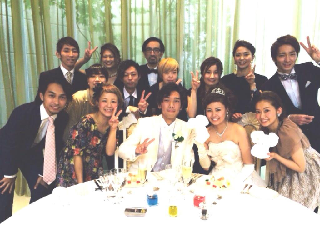 Wedding Party♪_b0161661_12432645.jpg