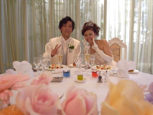 Wedding Party♪_b0161661_1256929.jpg