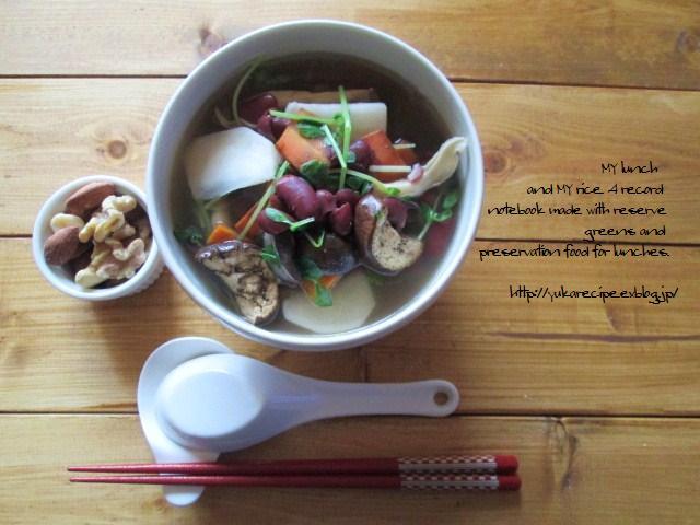スープにするならセミドライがおすすめ。スープをぐんっと染み込んで豊かな味わいに
