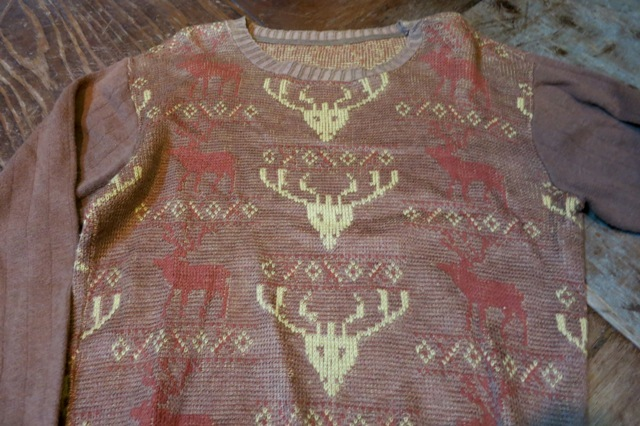 11/9(土)入荷!50'S ジャガードセーター!_c0144020_14561648.jpg