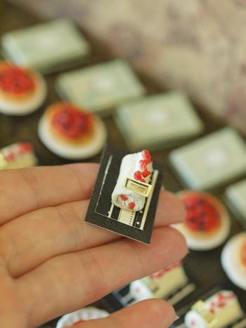 miniature*    [3]  Berry sweets* 出品予定_e0172847_9381773.jpg