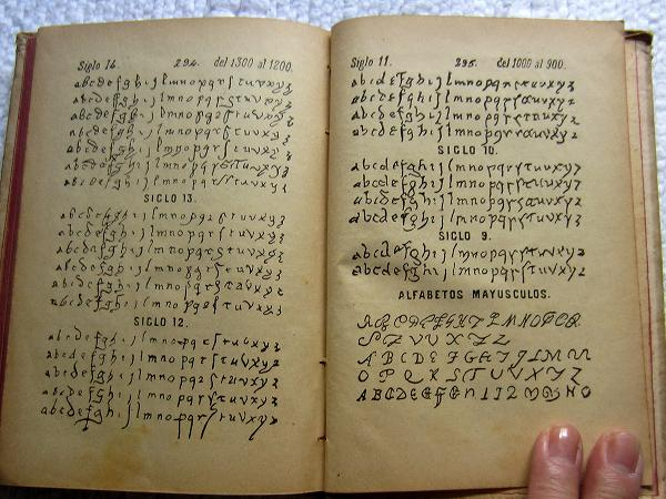 Book222 「スペインの文書と筆跡」  sold out!_f0112550_35051100.jpg