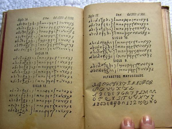 Book222 「スペインの文書と筆跡」  sold out!_f0112550_3514556.jpg