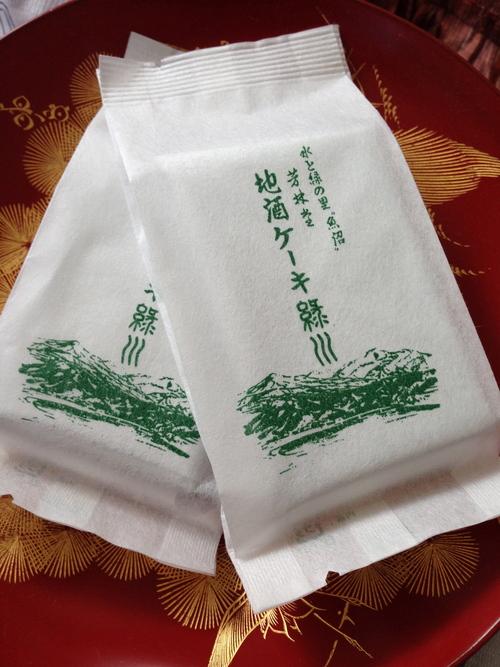 新潟 緑川の地酒ケーキ_c0185356_8524343.jpg