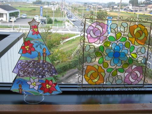秋の大感謝祭 グラスアート体験_f0230767_10443821.jpg