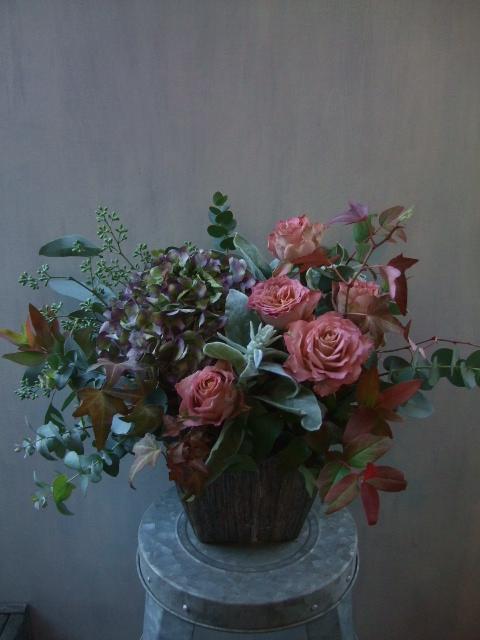 オークリーフ(㐂八さん、9周年のお花)_f0049672_1432232.jpg