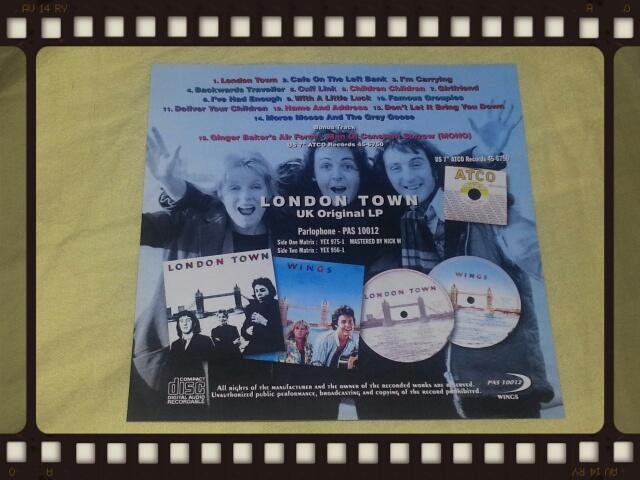 WINGS / LONDON TOWN UK ORIGINAL LP_b0042308_13574898.jpg