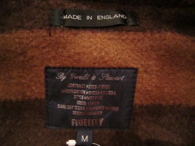 "FIDELITY \""LONG DUFFULE COAT\"" MADE IN ENGLAND ご紹介_f0191324_22593399.jpg"
