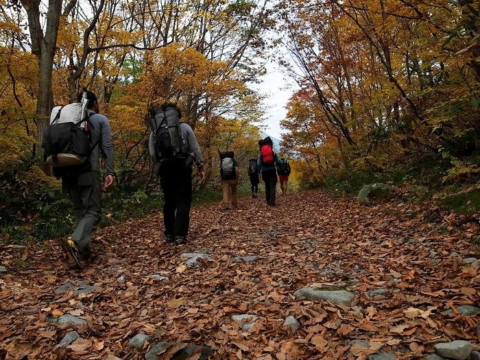 2013.11.3-4 谷川岳を歩いて泊まる山旅 day1_b0219778_19195430.jpg