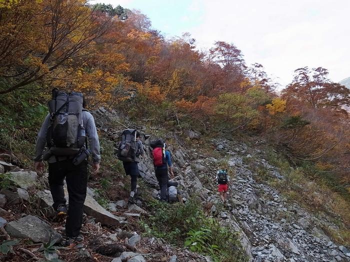 2013.11.3-4 谷川岳を歩いて泊まる山旅 day1_b0219778_19205022.jpg