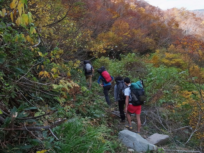 2013.11.3-4 谷川岳を歩いて泊まる山旅 day1_b0219778_1921946.jpg