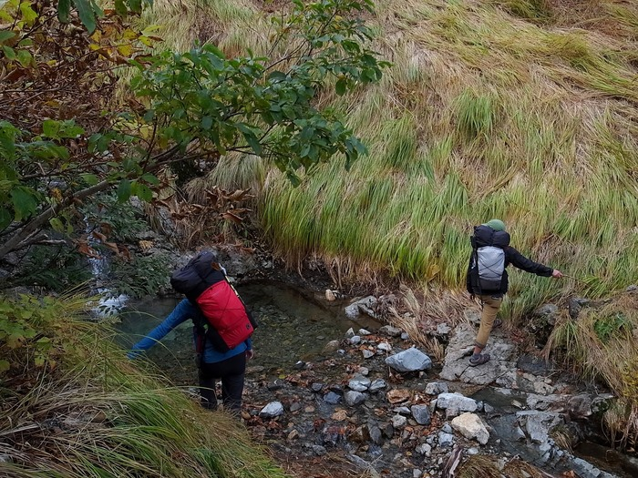 2013.11.3-4 谷川岳を歩いて泊まる山旅 day1_b0219778_1923639.jpg