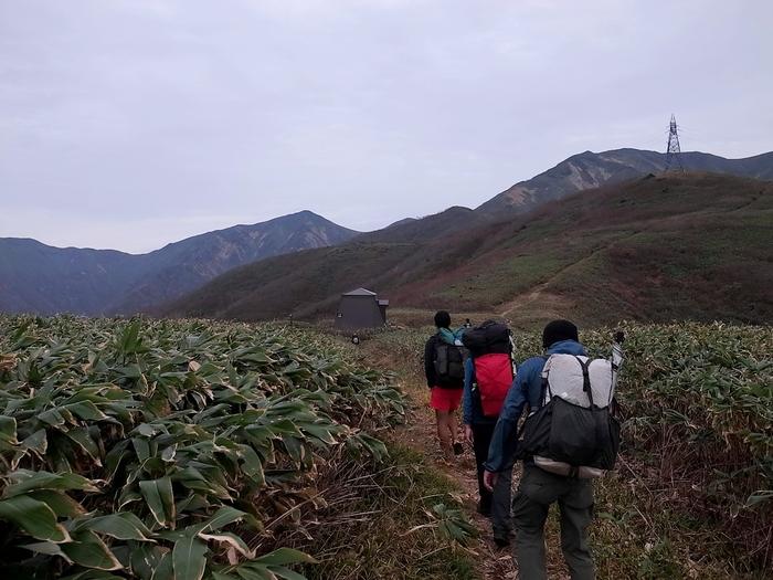 2013.11.3-4 谷川岳を歩いて泊まる山旅 day1_b0219778_1935569.jpg
