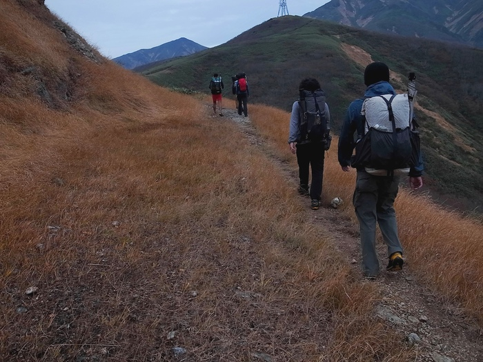 2013.11.3-4 谷川岳を歩いて泊まる山旅 day1_b0219778_1935866.jpg
