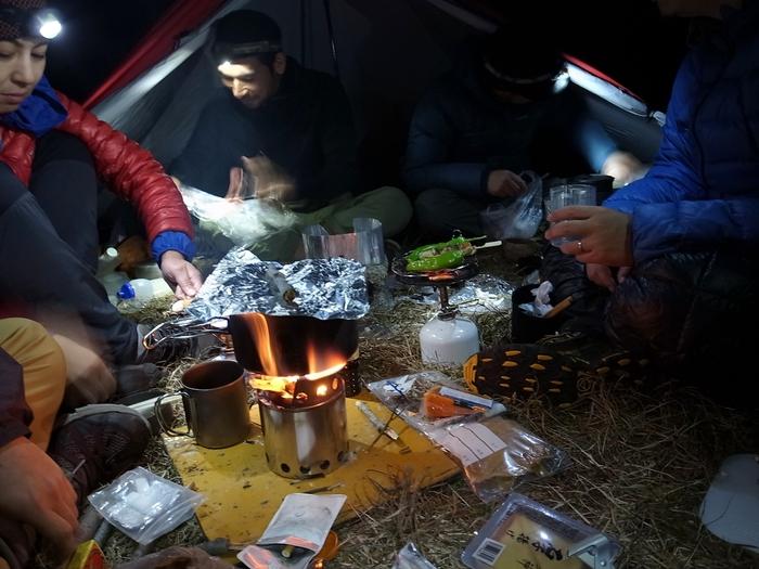 2013.11.3-4 谷川岳を歩いて泊まる山旅 day1_b0219778_19411180.jpg