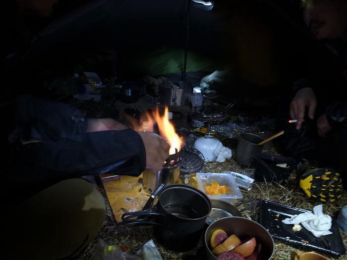 2013.11.3-4 谷川岳を歩いて泊まる山旅 day1_b0219778_19535461.jpg