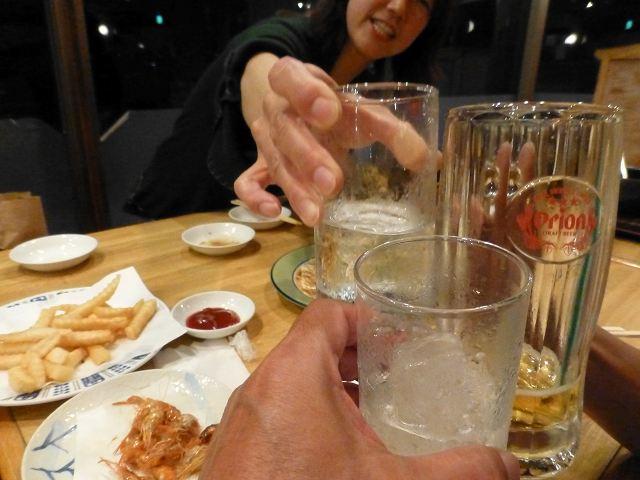 平成25年秋沖縄ダイビング ローソンの昼食と居酒屋「鈴」_c0118393_15255836.jpg