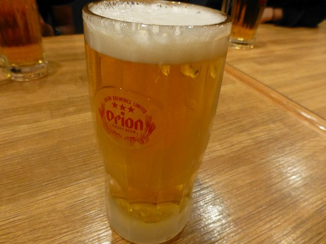 平成25年秋沖縄ダイビング ローソンの昼食と居酒屋「鈴」_c0118393_1585239.jpg