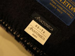 """PENDLETON blanket for ANATOMICA\""ってこんなこと。_c0140560_10461926.jpg"