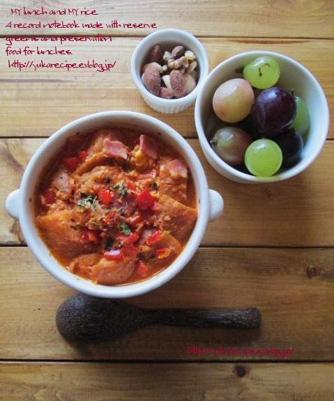 イエシゴトVol.14 ☆部 干しパプリカで貧乏人のスープ「sopa de ajo」と干し野菜基本事項_e0274872_08404686.jpg