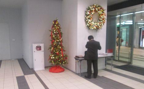 今年、ヒカリエのクリスマスツリーは_d0183174_8532191.jpg