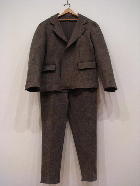 SUNSEA the first suit \'FELT SUIT\'_f0170995_1483399.jpg